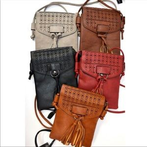 Handbags - Tassel crossbody bag